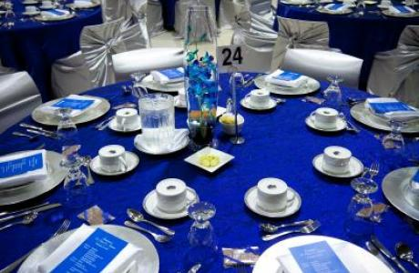 The Heart has been a versatile venue for banquets, ceremonies and even fashion shows!