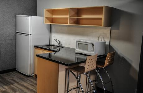 Open Concept Kitchenette