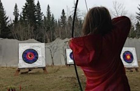 Archery - Camp Chief Hector, Canmore, Canadian Rockies