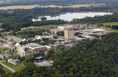 Aerial View of the Brock University campus