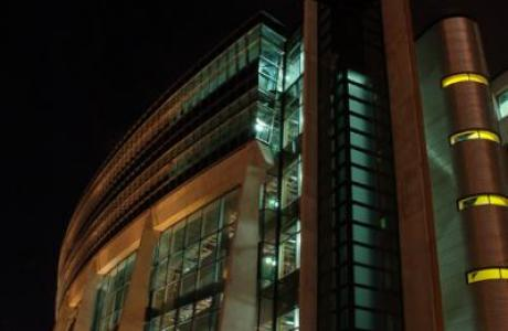 Night view of ATAC Building