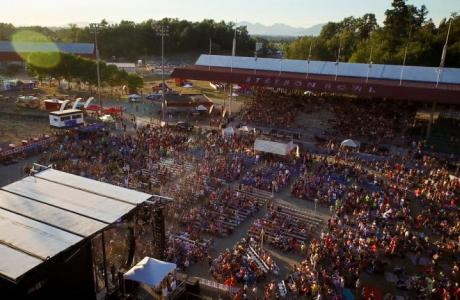 Stetson Bowl Stadium - Concert venue for up to 20,000
