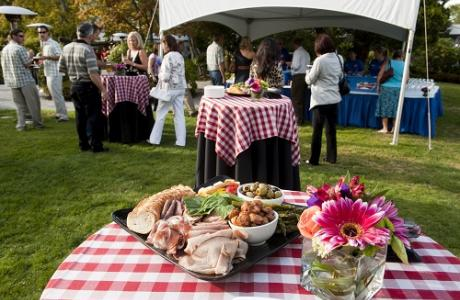 The PNE Catering Department offers full menu service, standard and customized