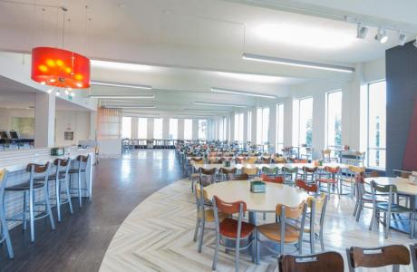 Residence Dining Hall Seating Area