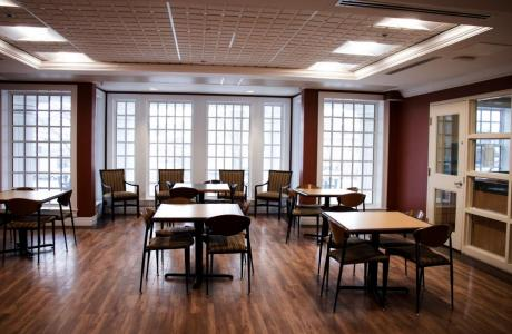 Dining Area - StFX University Hotel : cook your own meals and save!