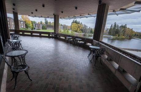 Faculty Lounge - Balcony