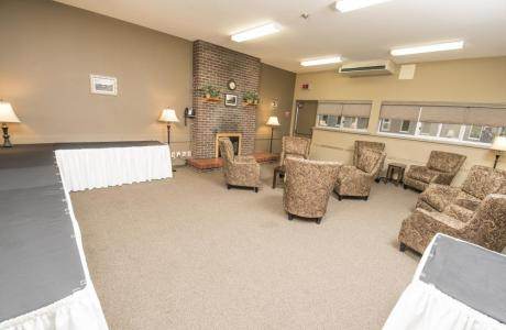 Fireside Lounge - Bartley Conference Centre
