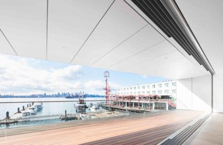 Balcony view from the Seaspan Pavilion/Event Gallery