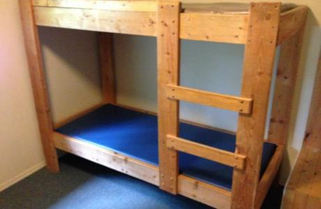 Bunk-style beds - Camp Chief Hector, Canmore, Canadian Rockies