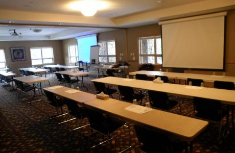 Wolf Creek Lodge offers three options for meeting rooms.