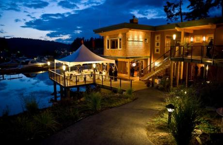 Painted Boat Resort Restaurant/Patio Wedding