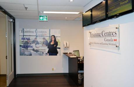 Training Centres Lobby - Reception and sign in