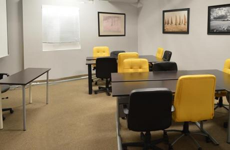 Room 5 - Group style POD seating up to 12