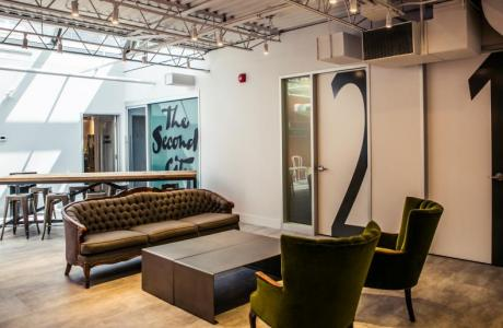 Second City Training Centre Lounge Area