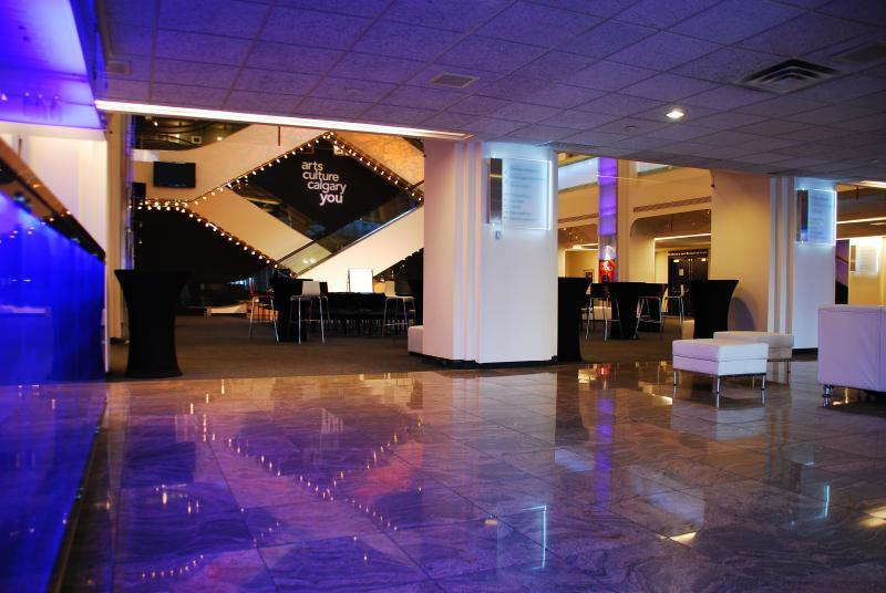 The Foyer of the Lobby is ideal for registration and welcoming guests