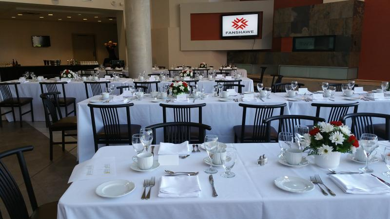 Dinner Event in the Atrium
