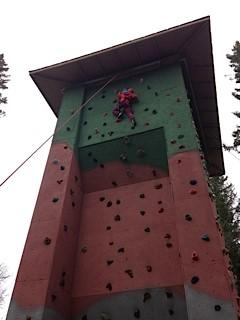 Climbing Tower - Camp Chief Hector, Canmore, Canadian Rockies