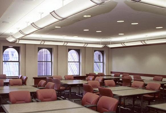 Comfortable Meeting Rooms of Varying Sizes, Most with Natural Light