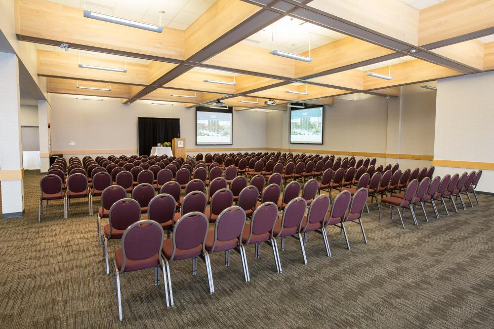 Mountain Room - Ideal for meetings, conference & special events. Private patio.