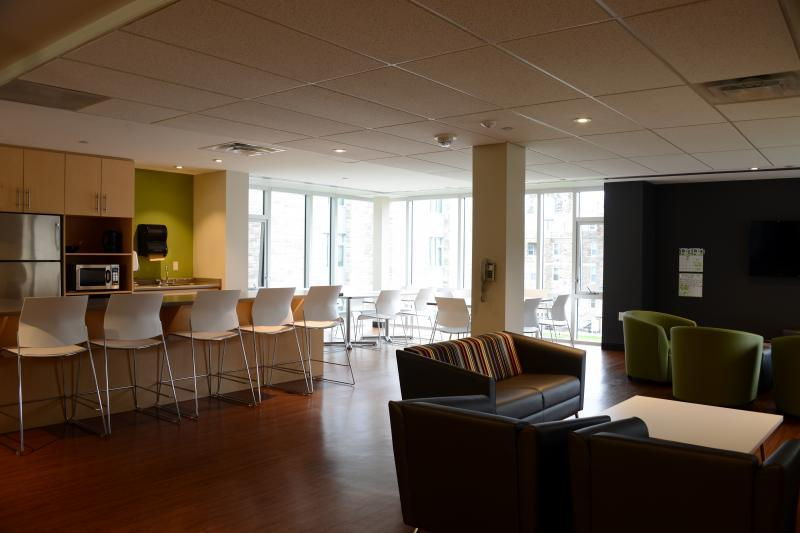 Accommodation Lounge - Clare Hall