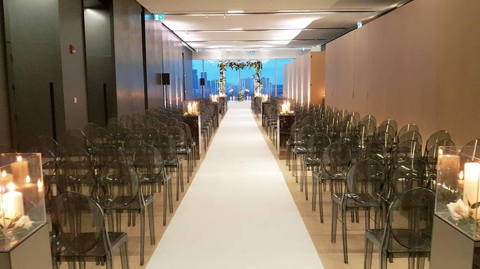 Weddings at The Globe and Mail Centre