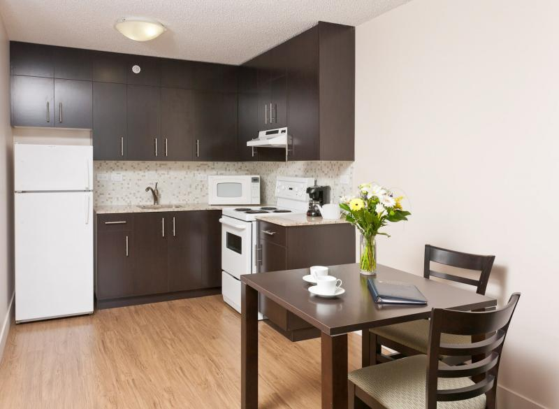 Walter Gage One Bedroom Suite - Equipped Kitchen