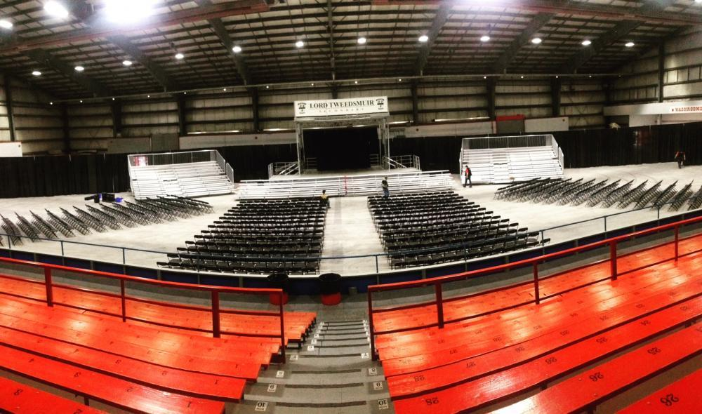 Awards show and banquet venue - Agriplex