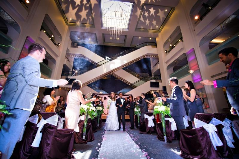 Jack Singer Lobby - Wedding Ceremony