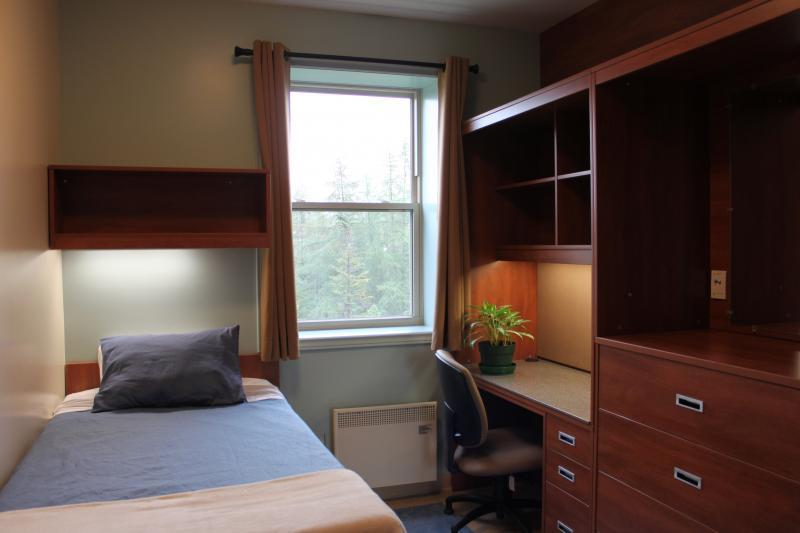 Single Dorm Room in the Residence Complex