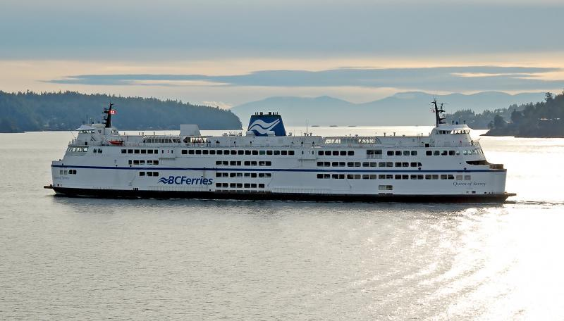 BC Ferries travel to Painted Boat Resort