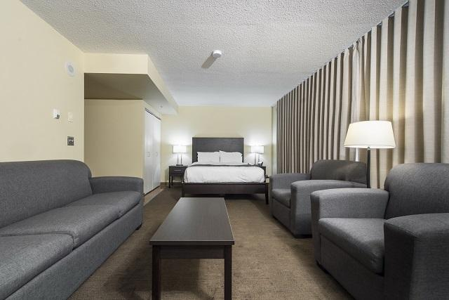 Simon Hotel Queen with Sofabed Room