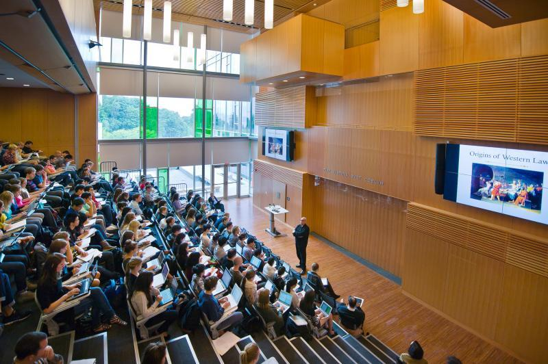 Academic Classroom at UBC - Allard Hall