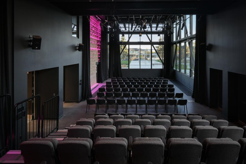 Studio Theatre Full with 138 seats
