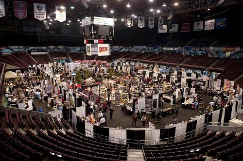 Gordon Food Services trade show in the Pacific Coliseum