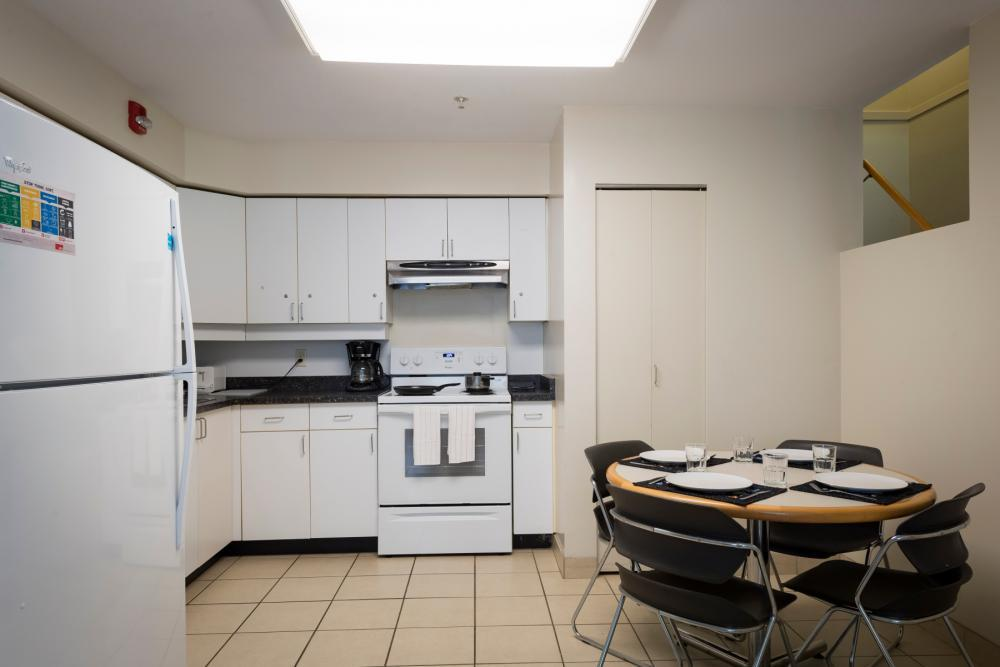Townhouse Quad Kitchen