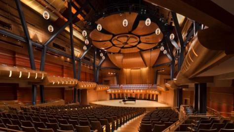 Bella Concert Hall in the Taylor Centre
