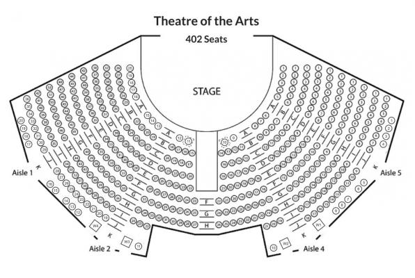 Theatre of the Arts Floorplan