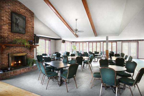 The Club House is a cozy and intimate venue for your dinner or special event.
