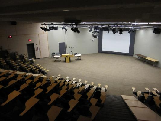 Lecture Theatre, Conference space, plenary space