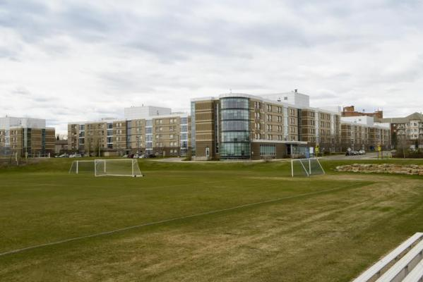 West Residence and Soccer Fields