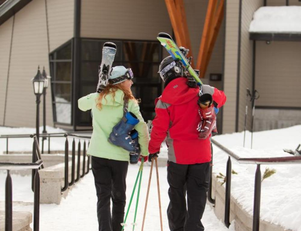 Ski In & Ski Out at the Kimberley Conference Center