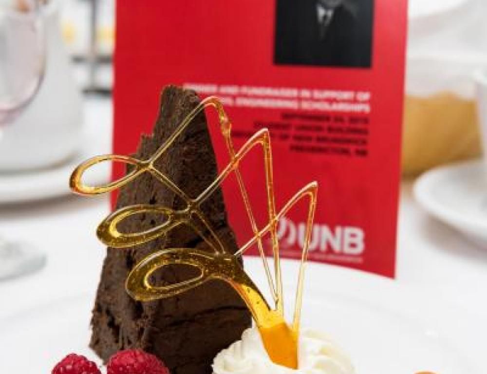 Delicious Desserts prepared by UNB's Executive Chef