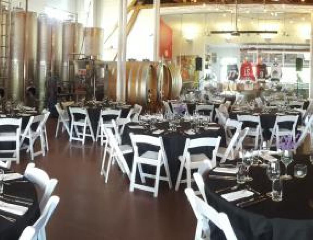 Meeting Space in Burning Kiln Winery Production Room
