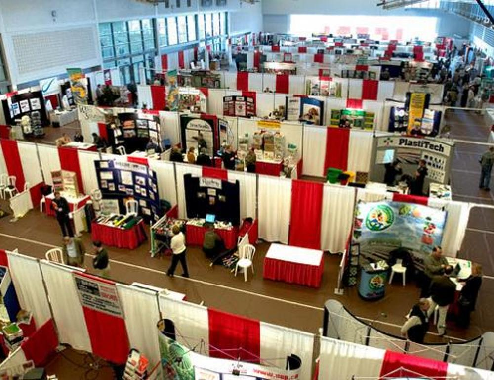 Tradeshow in the Beddis Gym