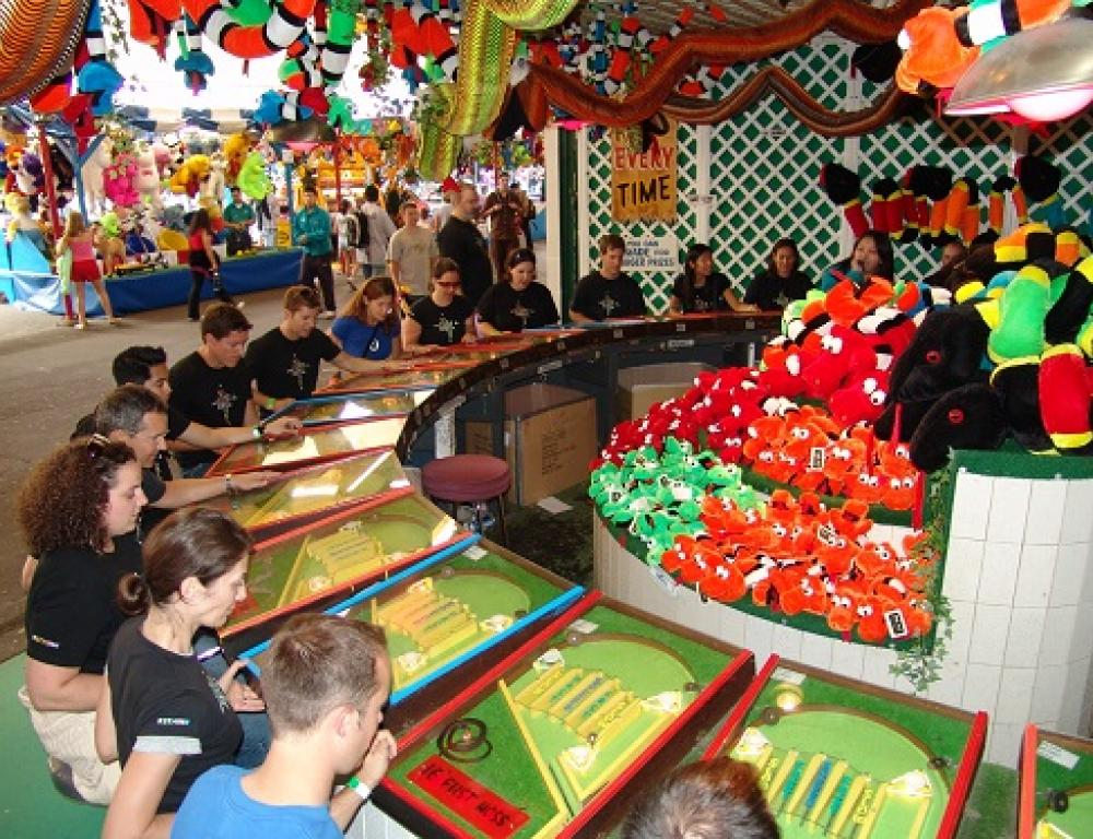 Corporate staff event at Playland