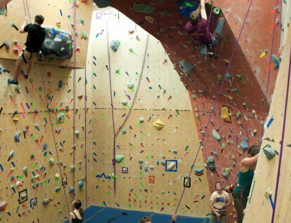 Sally Borden Fitness & Recreation | Climbing Wall