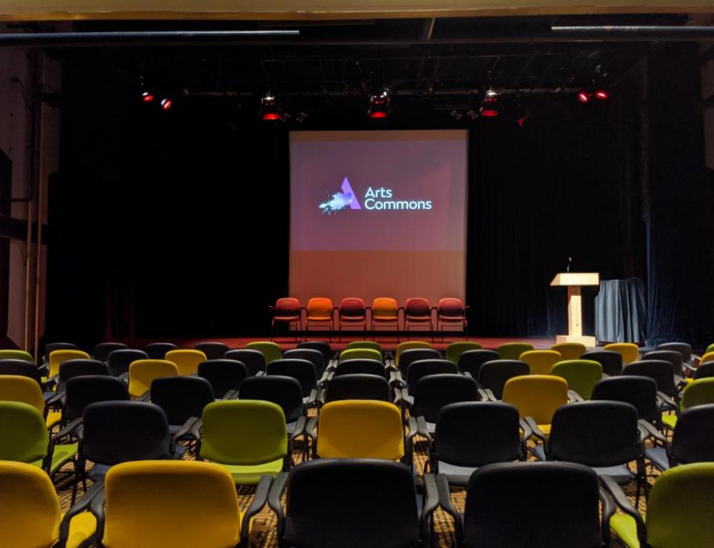 A versatile space for Presentations, Workshops or creative receptions