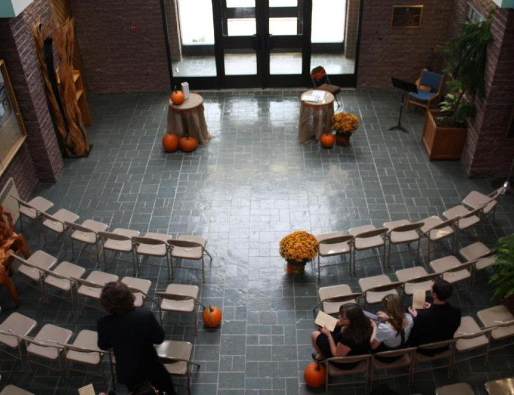 Fine Arts Atrium as a Wedding Venue
