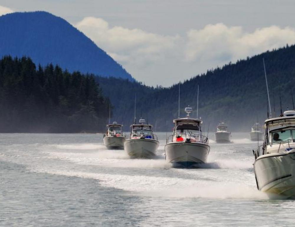 Guided fishing heading out for the day!