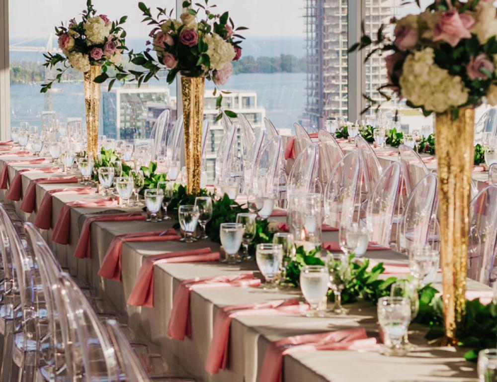 Weddings at The Globe and Mail Centre - Photo credit:  The Love Studio